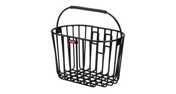 KlickFix Alumino Koszyk rowerowy czarny